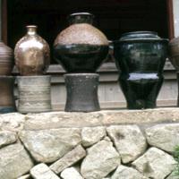 Tamba pottery, view 07., current work from Ichino kiln