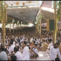 Audience at Minaksi kalyanam