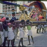 Sundaresvara in palanquin