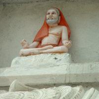 Ellora, Datta Temple, ascetic figure