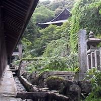 Hasedera - Alongside covered stairway