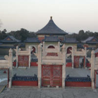 Gates Behind Temple of Heaven